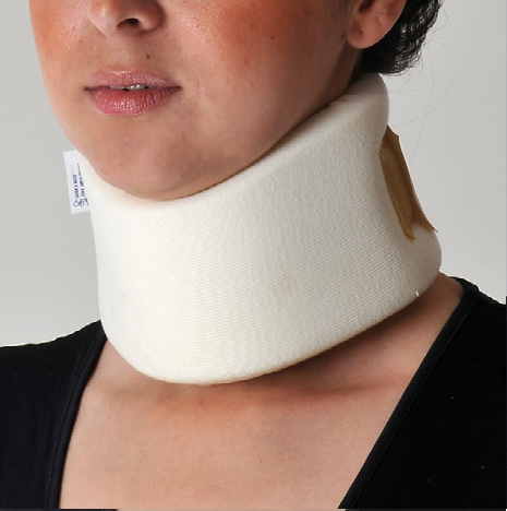 COCH - Collar Cervical De Algodon Color Hueso